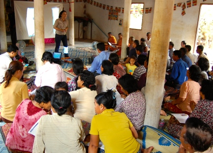 VoR Community Dialogue in Phnom Srok district in March 2014