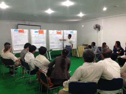 January 2014: Training on Mediation and Dialogue Facilitation Skills, attended by ADHOC, CDP, TPO, and AIJI representatives.
